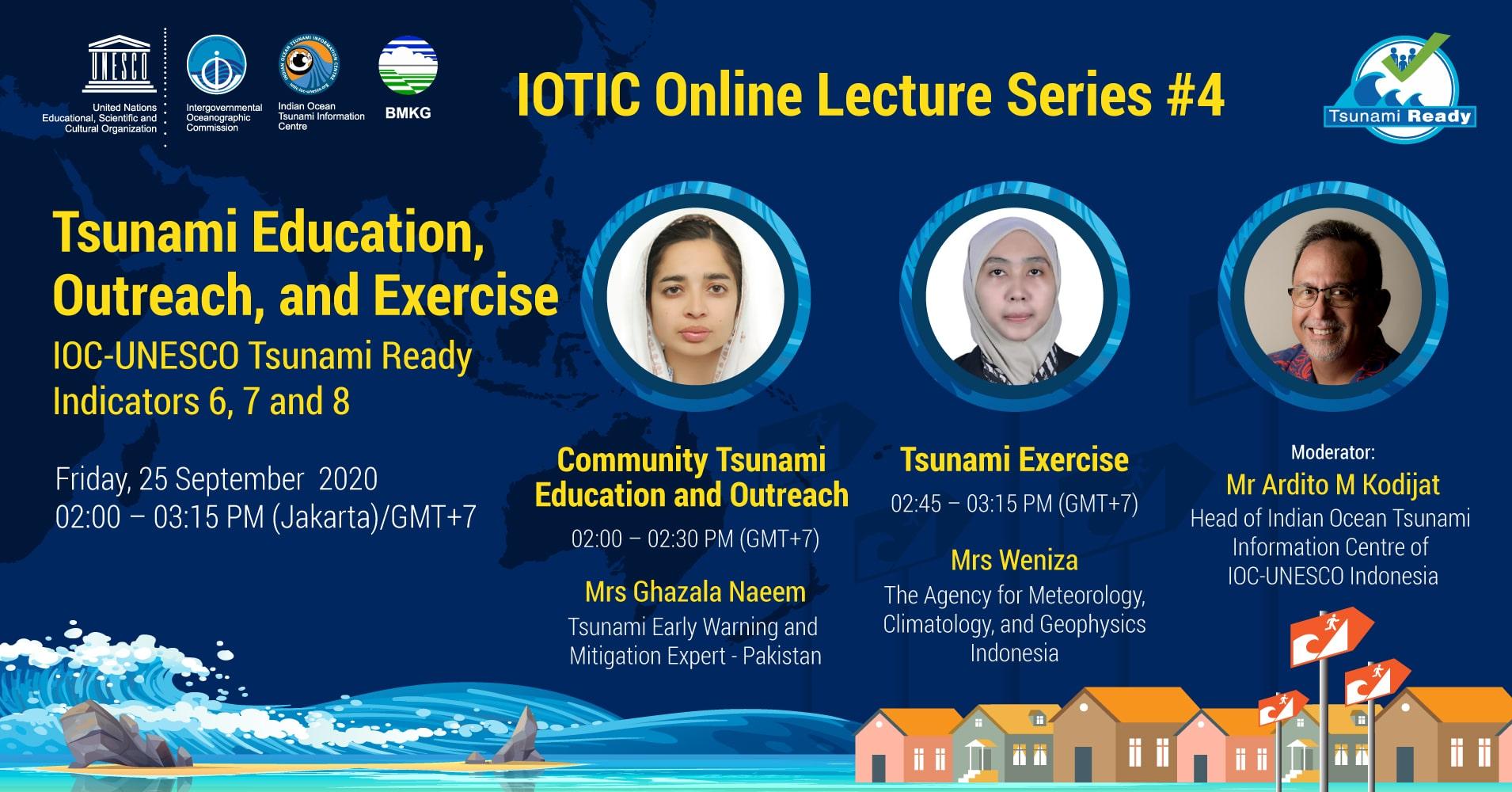 IOTIC Online Lecture Series #4
