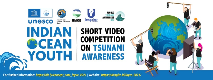 UNESCO-IOC Calls Indian Ocean Youth to Participate in Short Video Competition on Tsunami Awareness